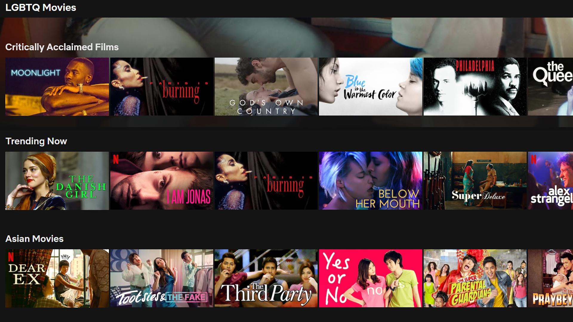 Best LGBT Movies On Netflix