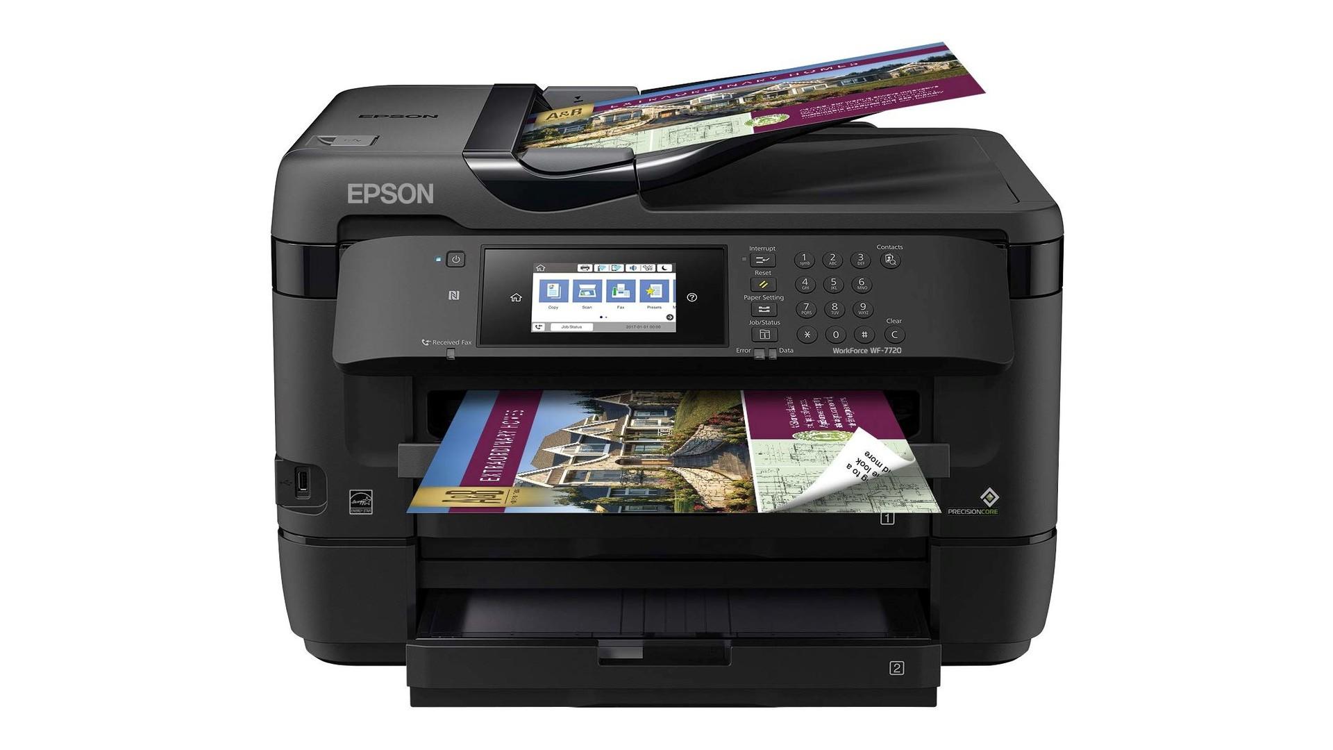Epson WorkForce WF 7720 all in one printer