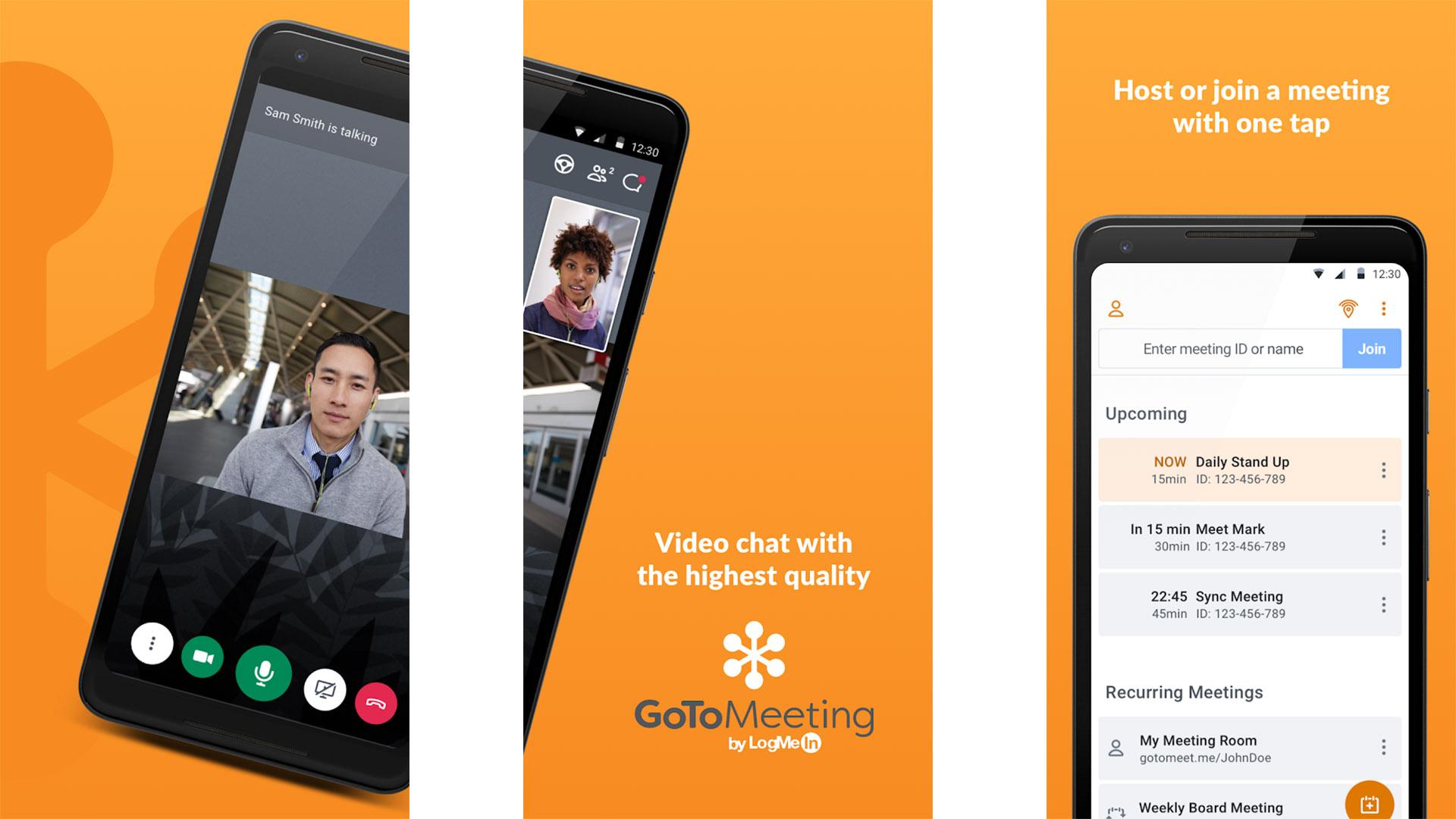 GoToMeeting screenshot 2020