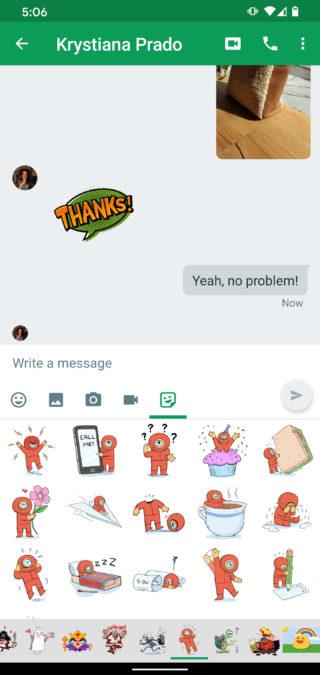 Google Hangouts app 3