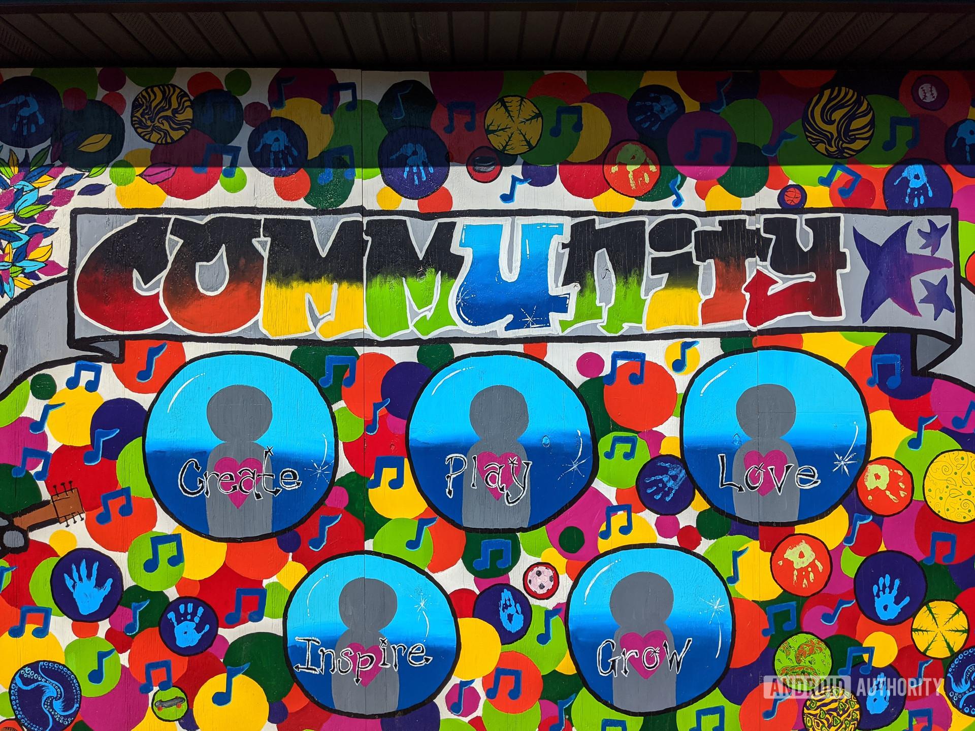 Google Pixel 4 XL camera sample community color