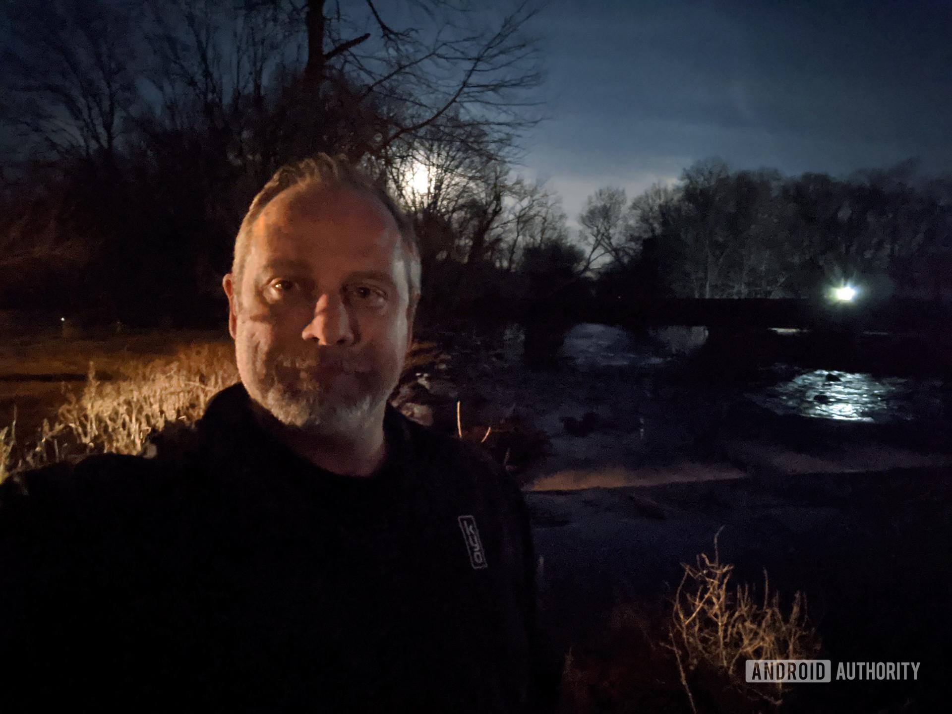 Google Pixel 4 XL camera sample night mode selfie