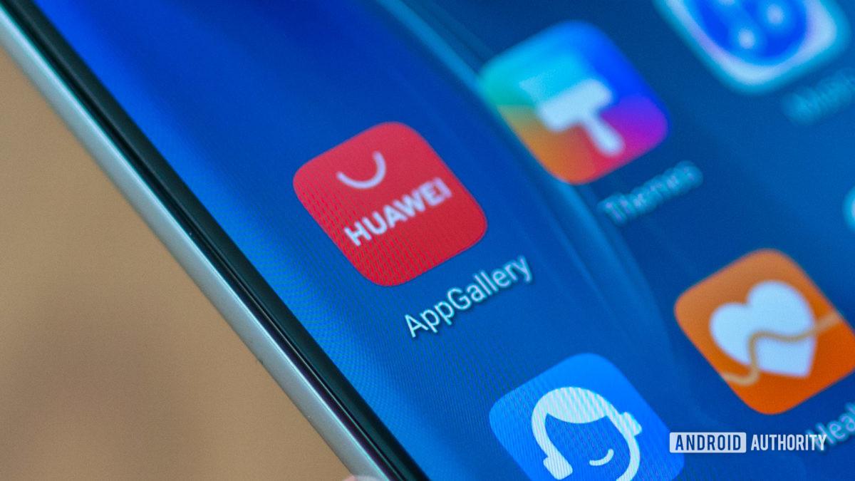 Huawei P40 Pro Huawei App Gallery icon