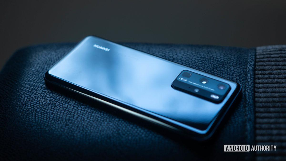 Huawei P40 Pro Rear housing shine