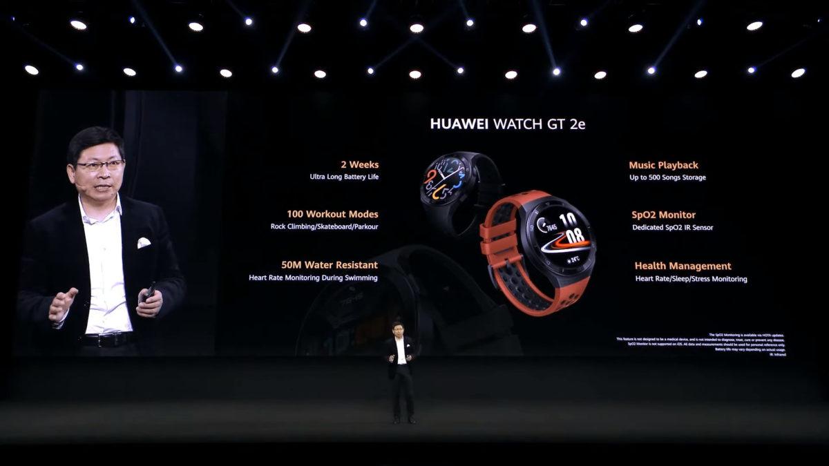 Huawei Watch GT 2e announcement