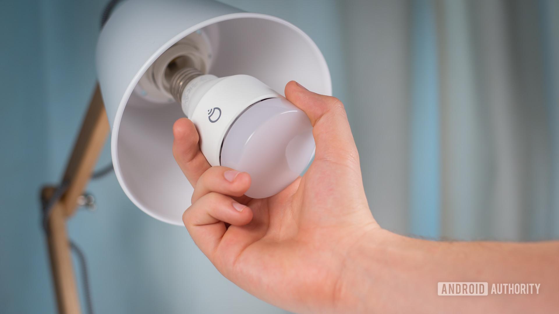 LIFX smart LED light bulb stock photo 4