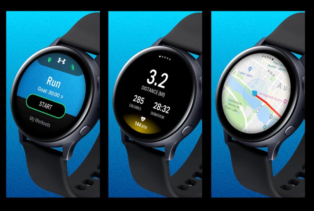 Map My Run mejores aplicaciones Galaxy Watch Active 2