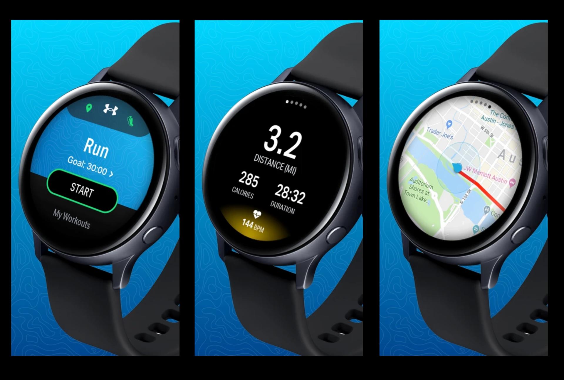 Map My Run best Galaxy Watch Active 2 apps
