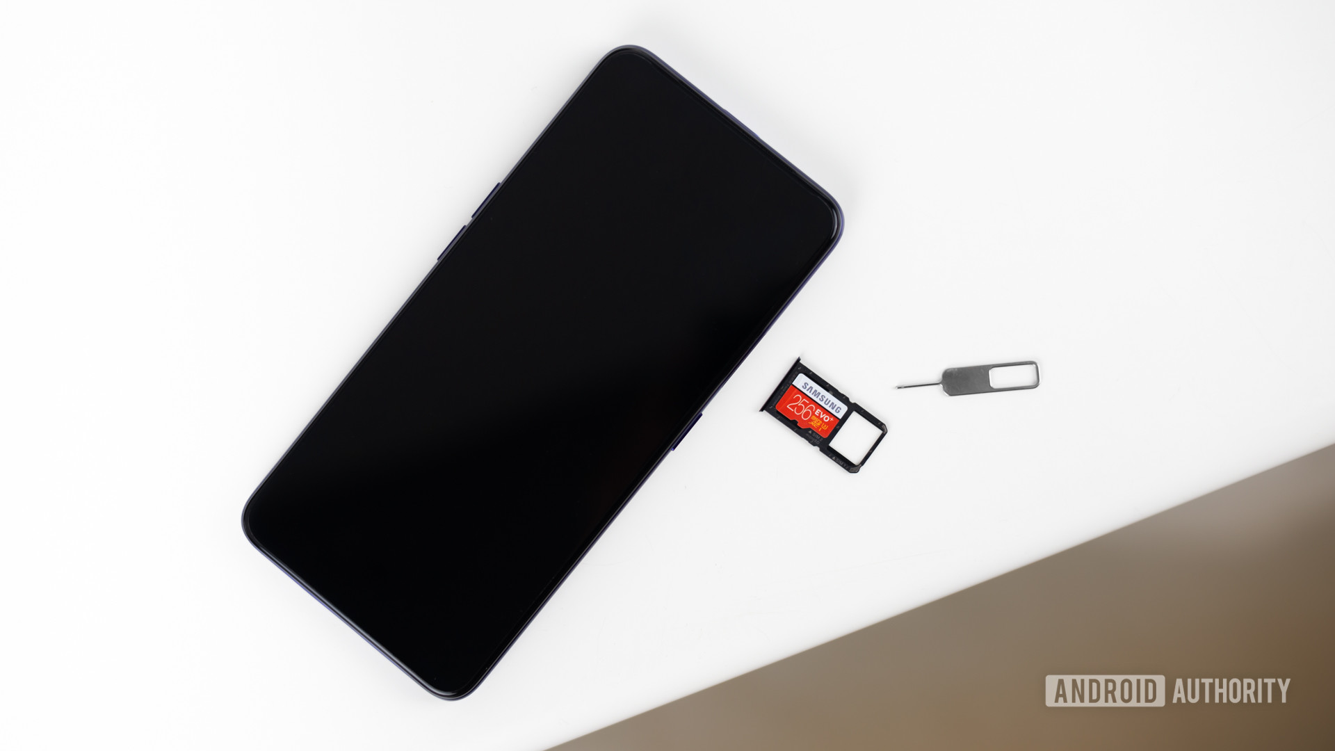 MicroSD card slot stock photo 1
