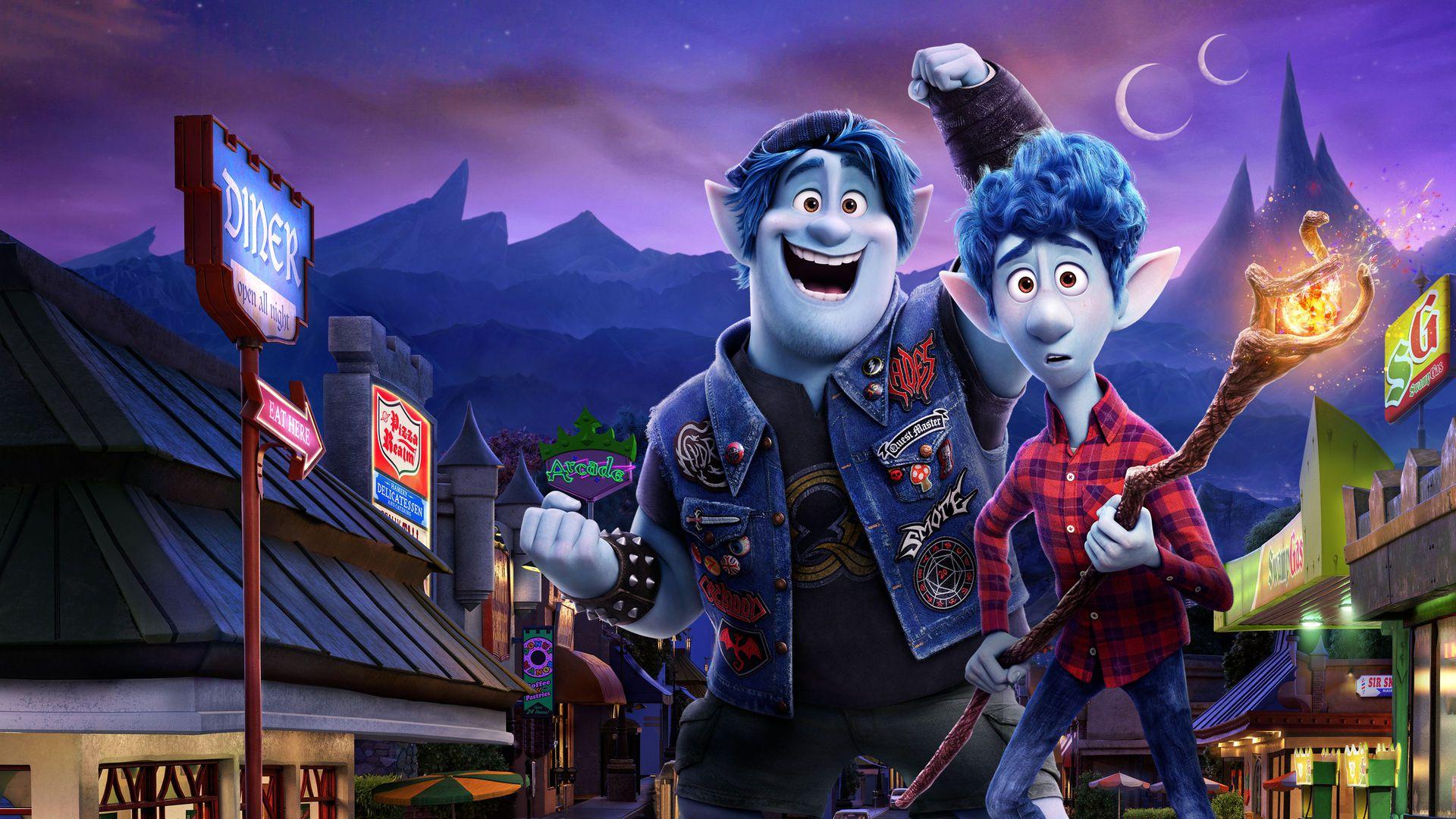 Onward movie on Disney Plus