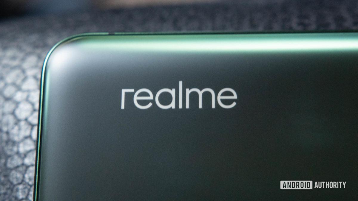 Realme X50 Pro 5G Realme Logo