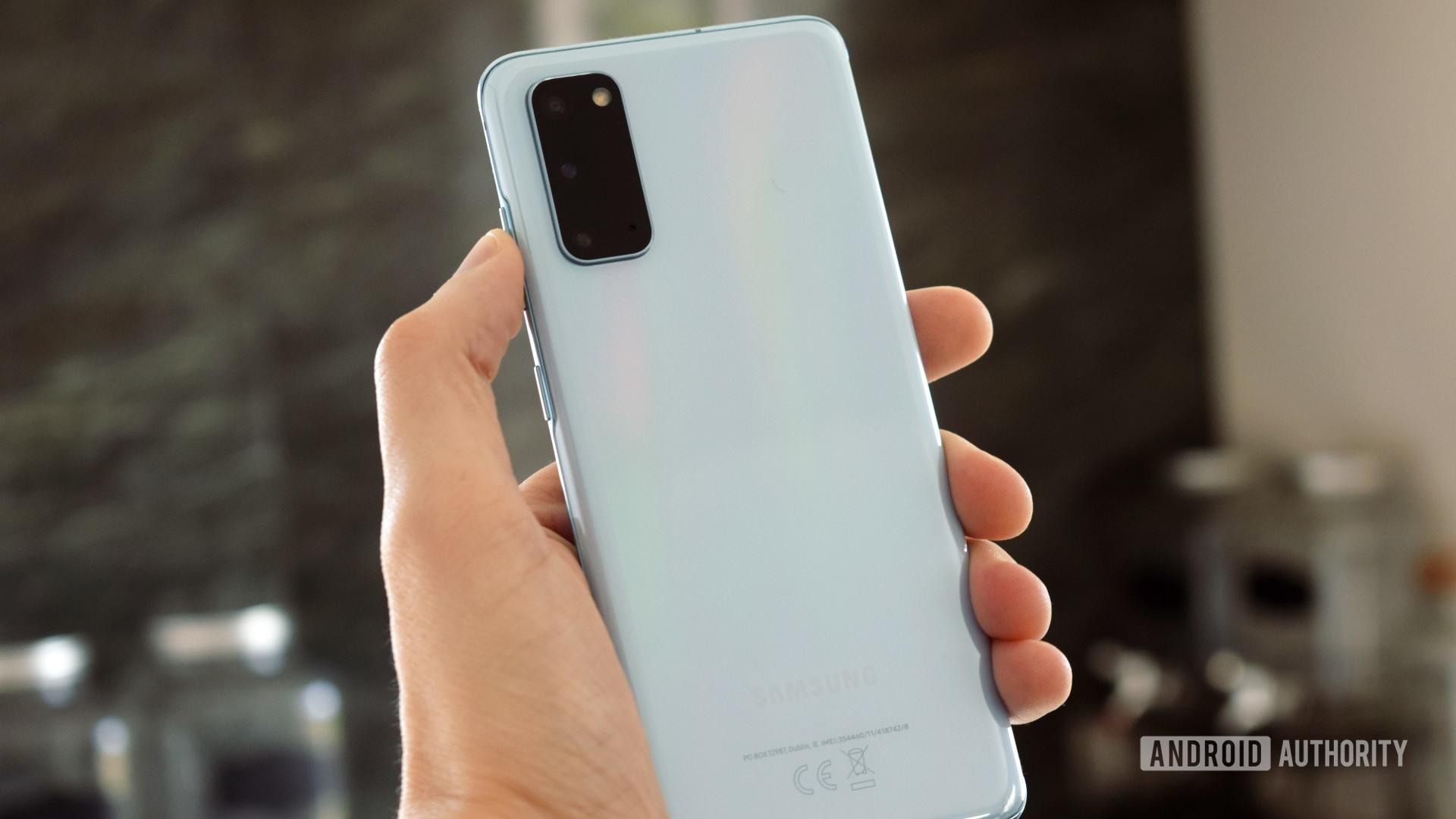 Samsung Galaxy S20 Back 2