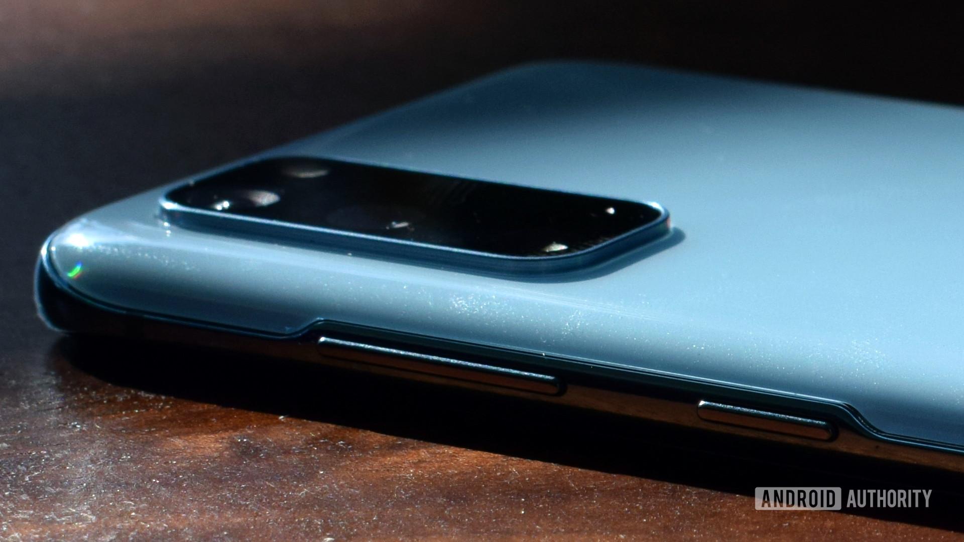 Samsung Galaxy S20 Buttons