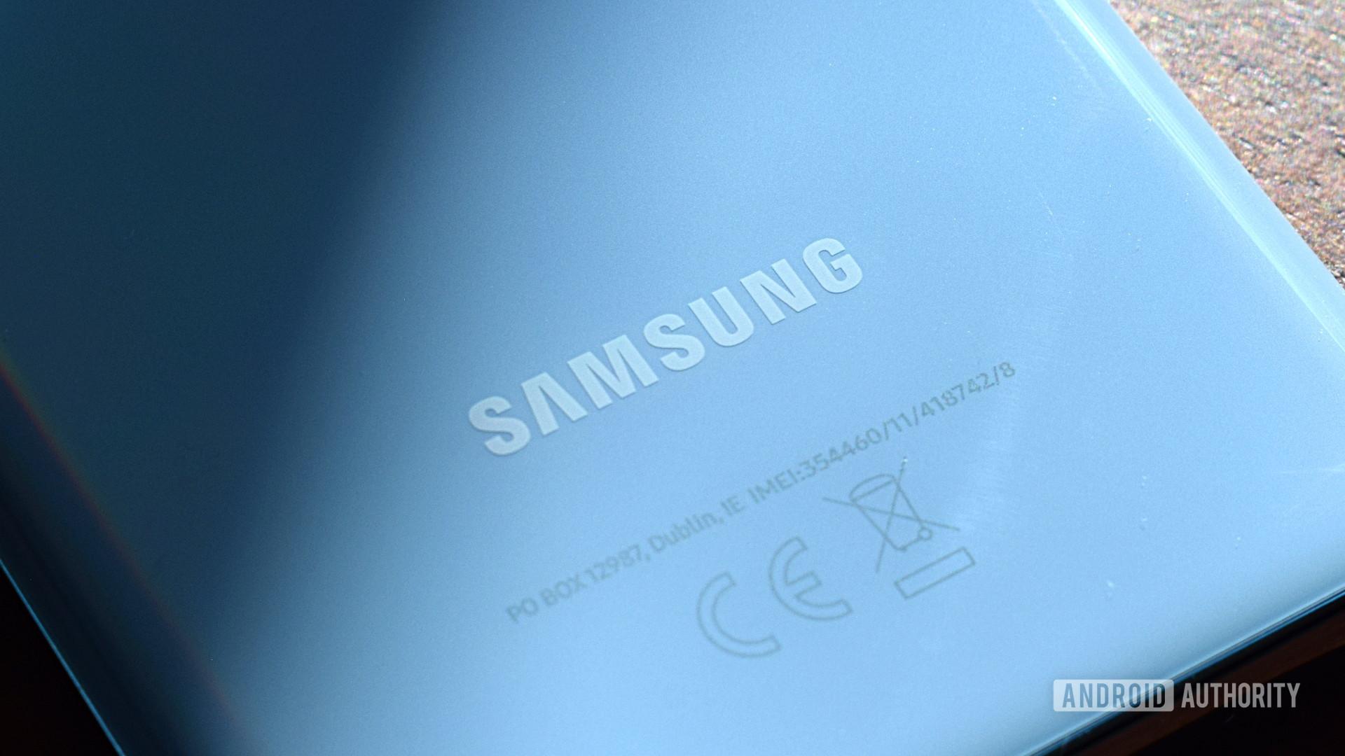 Samsung Logo Galaxy S20 1