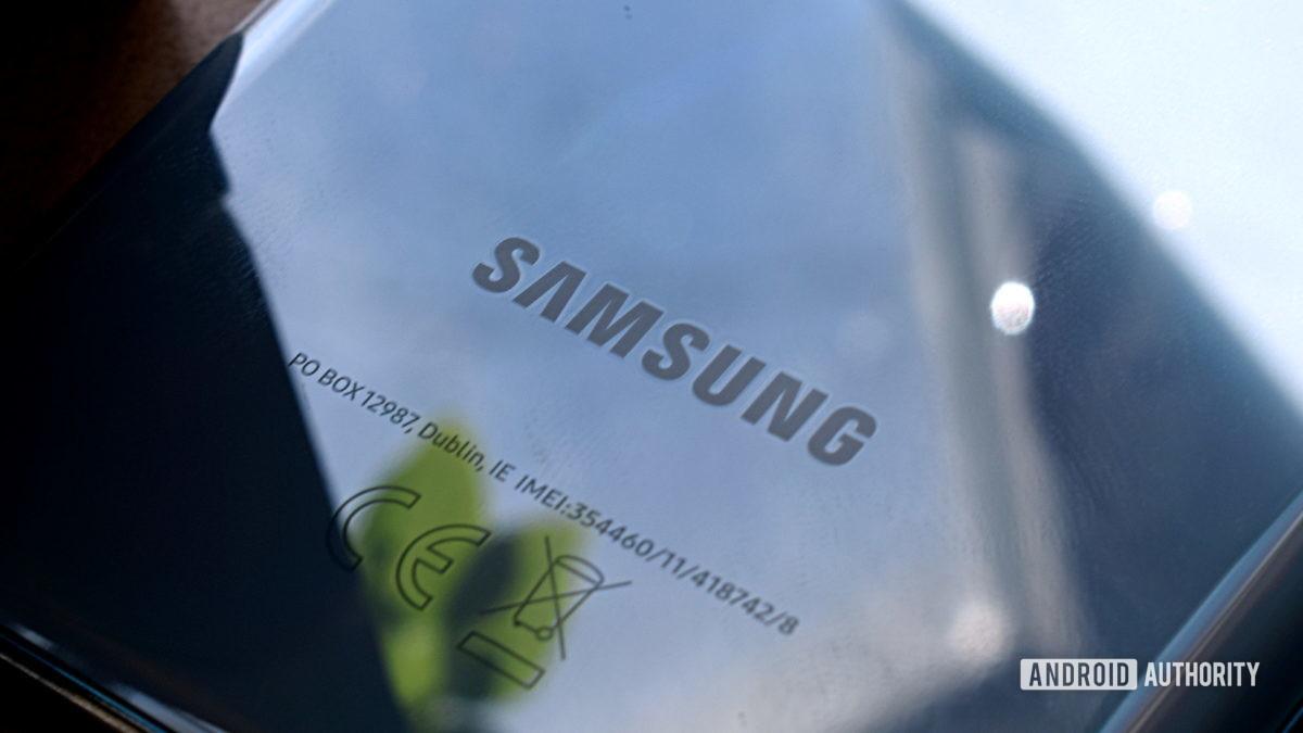 Logotipo de Samsung Galaxy S20 2