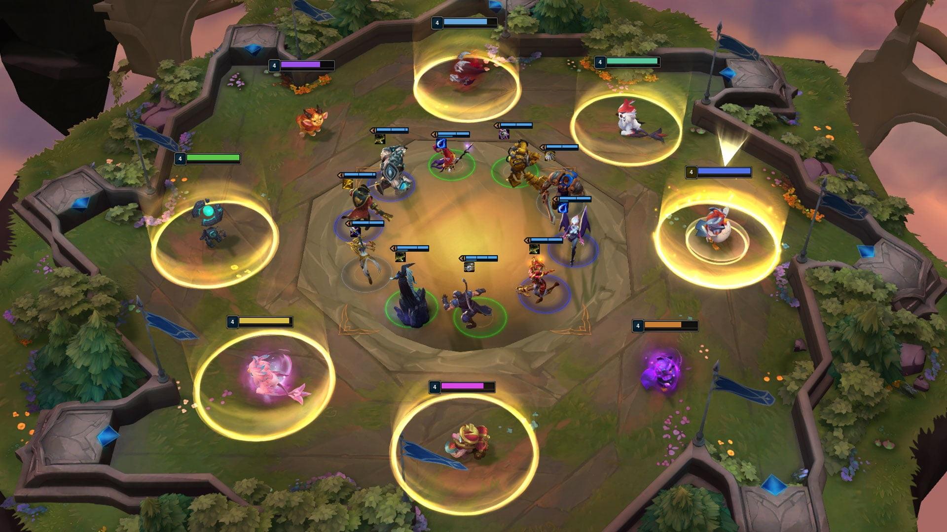 Teamfight Tactics shared draft