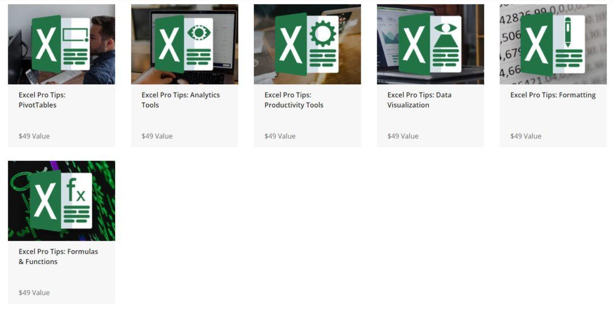 The Complete Excel Pro Tips Certification Bundle