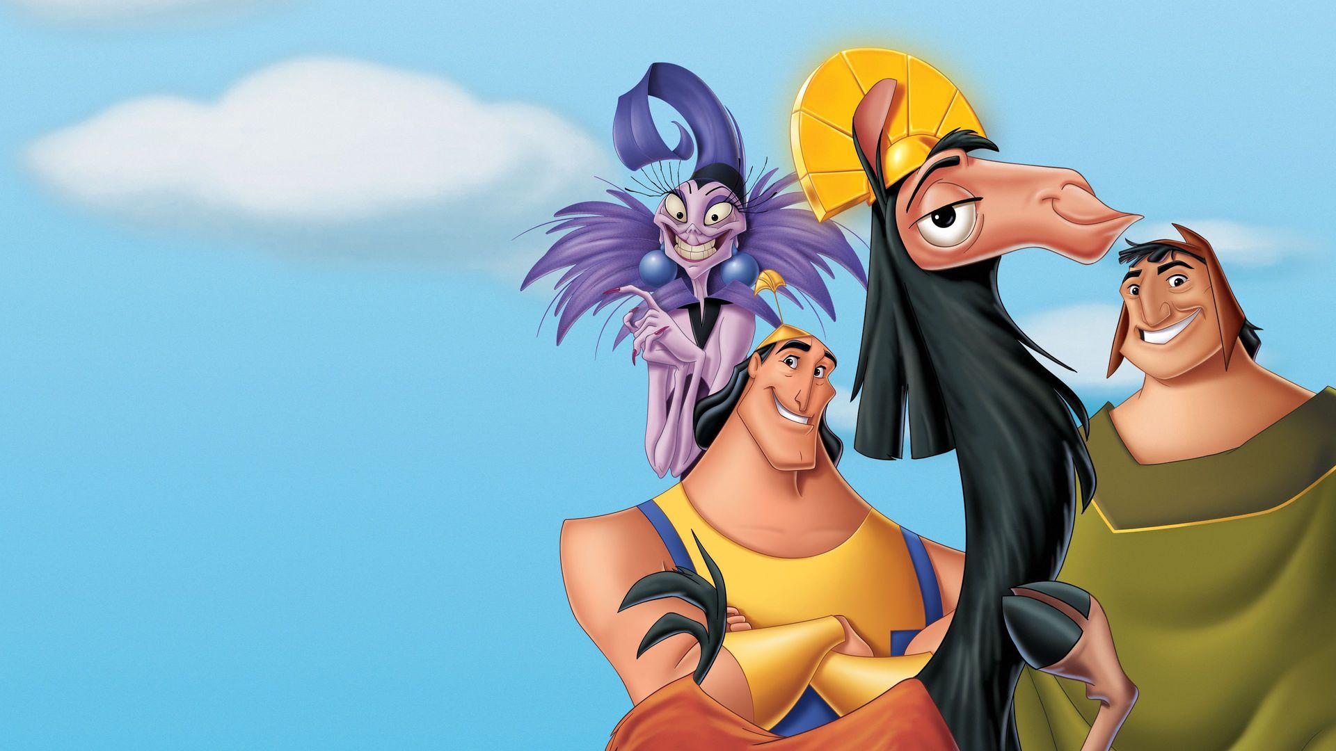 The Emperors New Groove Disney Plus comedy photo