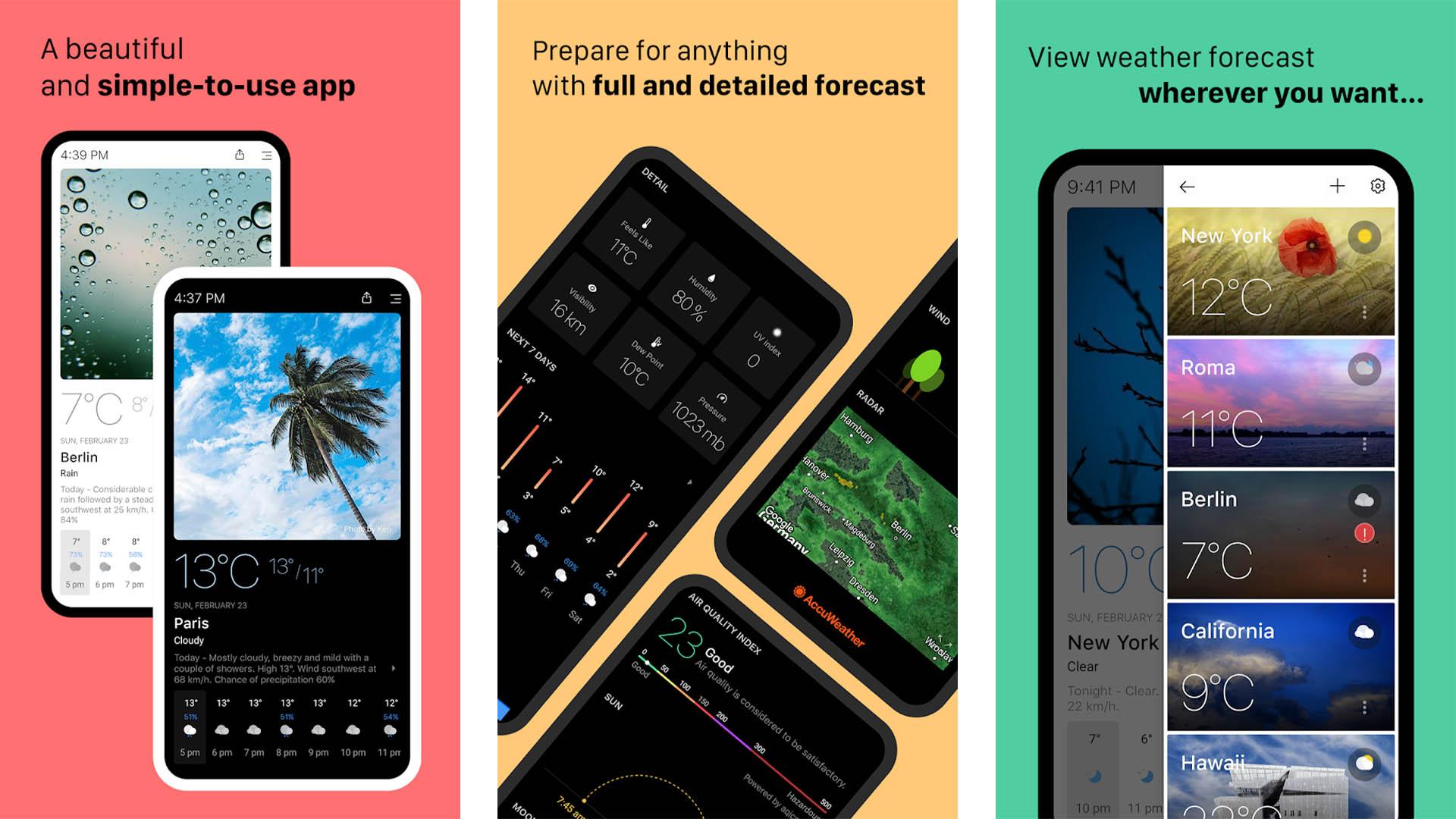 Today Weather screenshot 2020