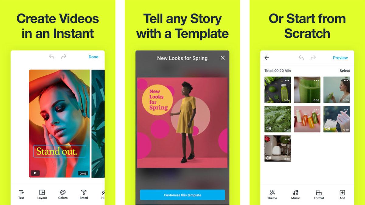 احدث تطبيق محرر فديو مجاني 2020 اصنع فيديوهات بشكل احترافى !