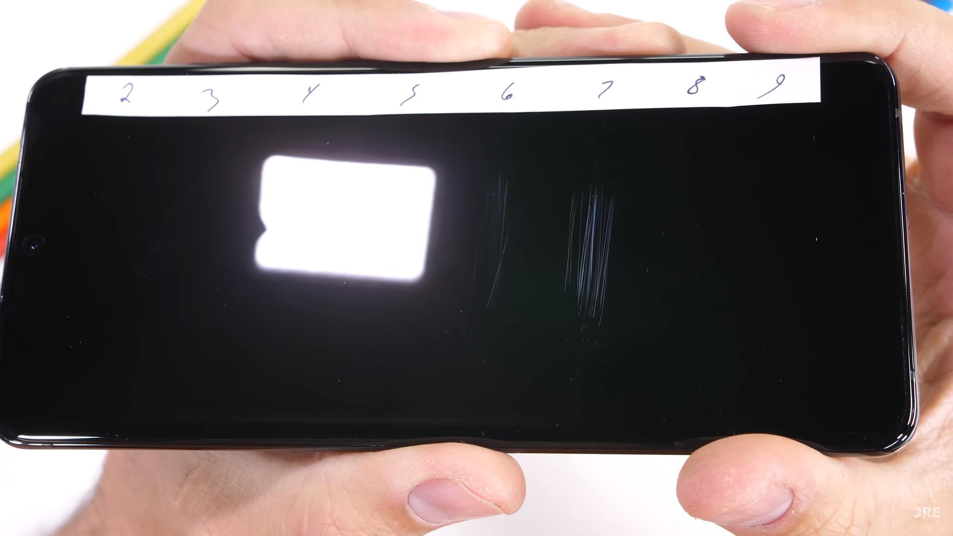 The Samsung Galaxy S20 Ultra durability test.