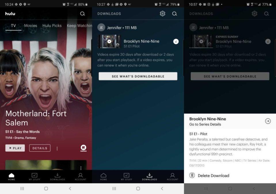 hulu download screenshot 2