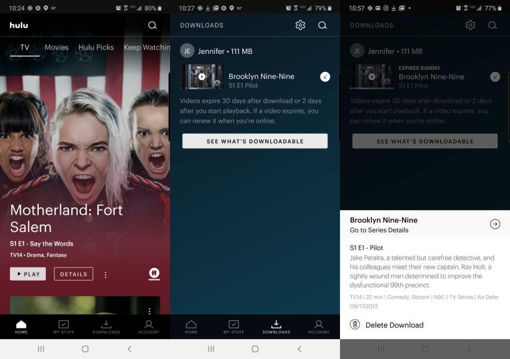hulu تنزيل لقطة الشاشة 2