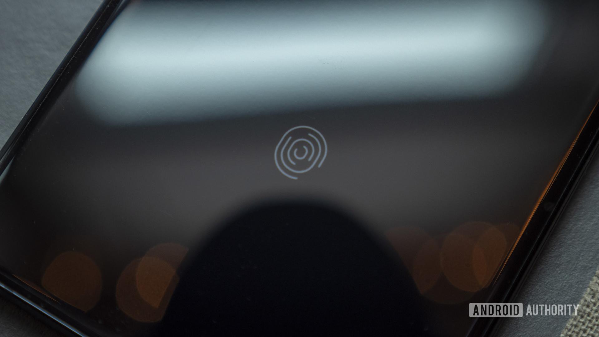 samsung galaxy s20 plus review in display fingerprint sensor