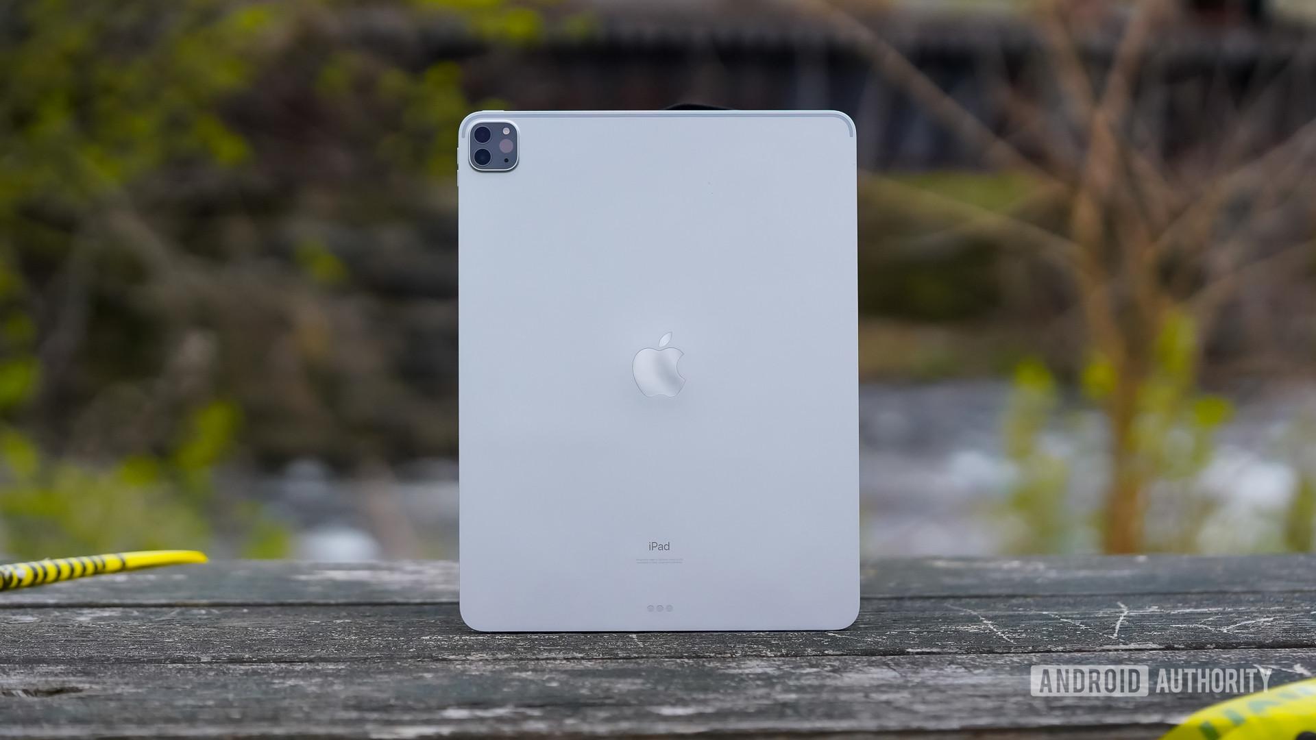 Apple iPad Pro 2020 on bench