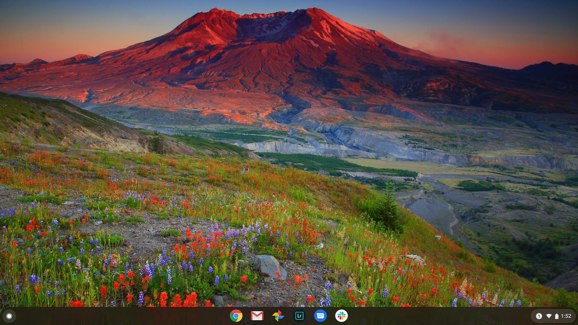 Asus Chromebook Flip C436 review home screen