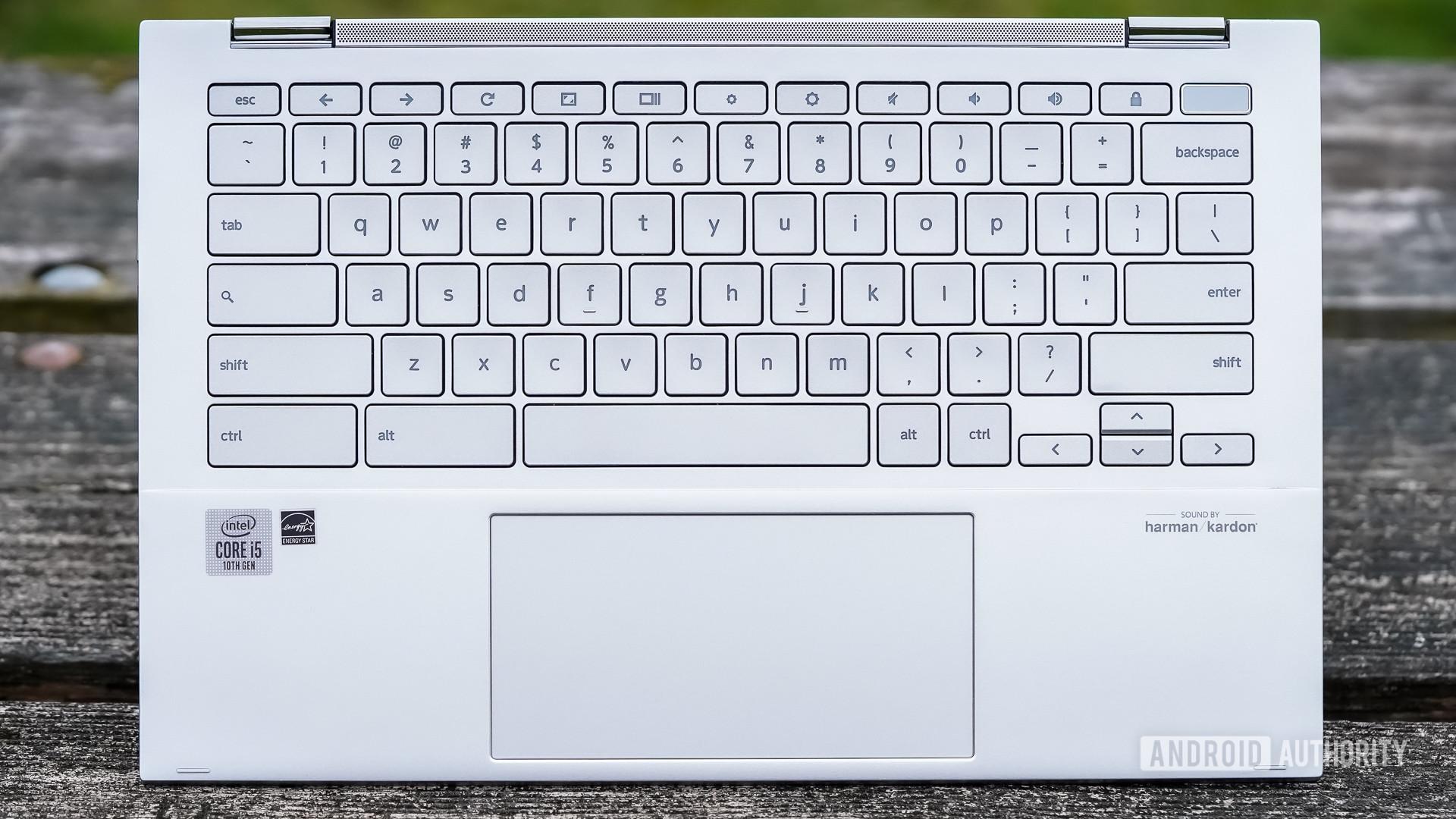 Asus Chromebook Flip C436 review keyboard