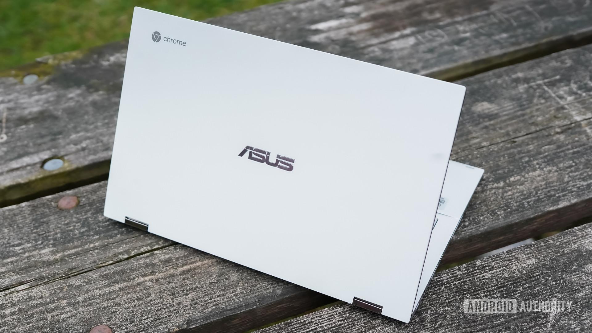 Asus Chromebook Flip C436 review rear profile