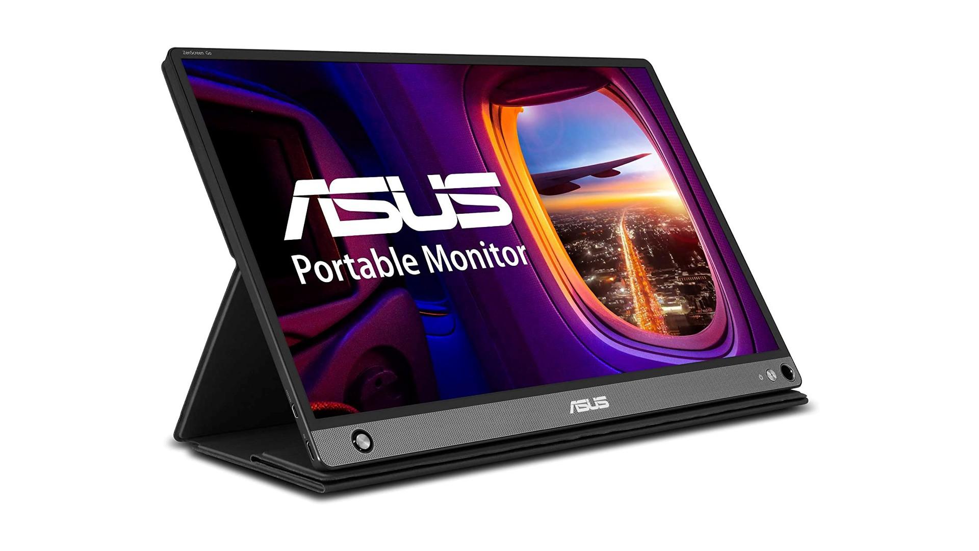 Asus Zenscreen Go portable Chromebook screen