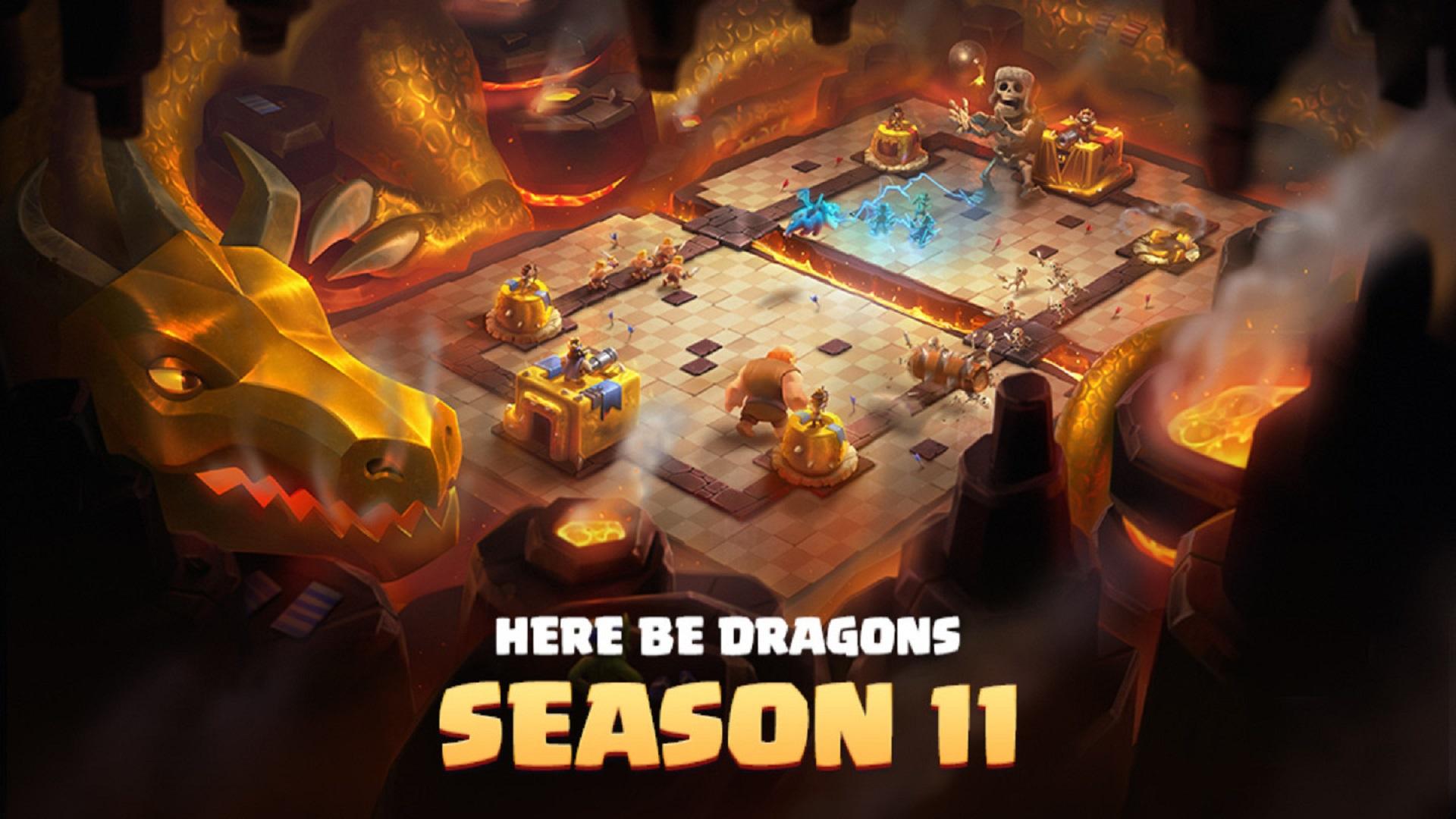 Clash Royale update Season 11