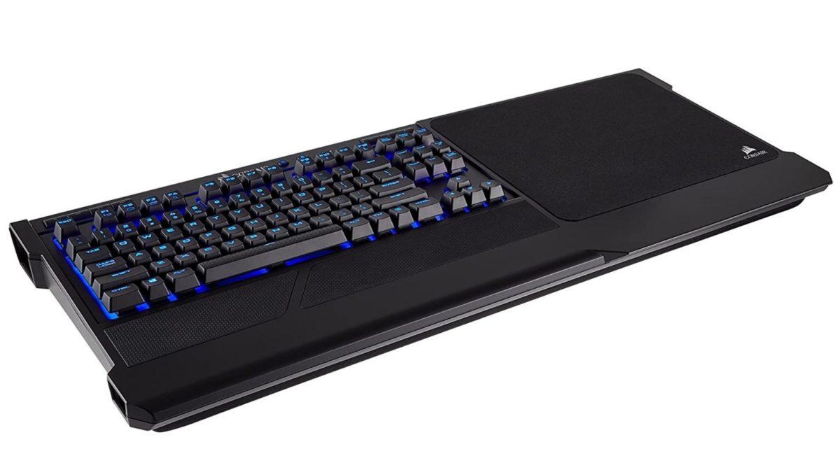 Corsair K63 gaming lap board desk