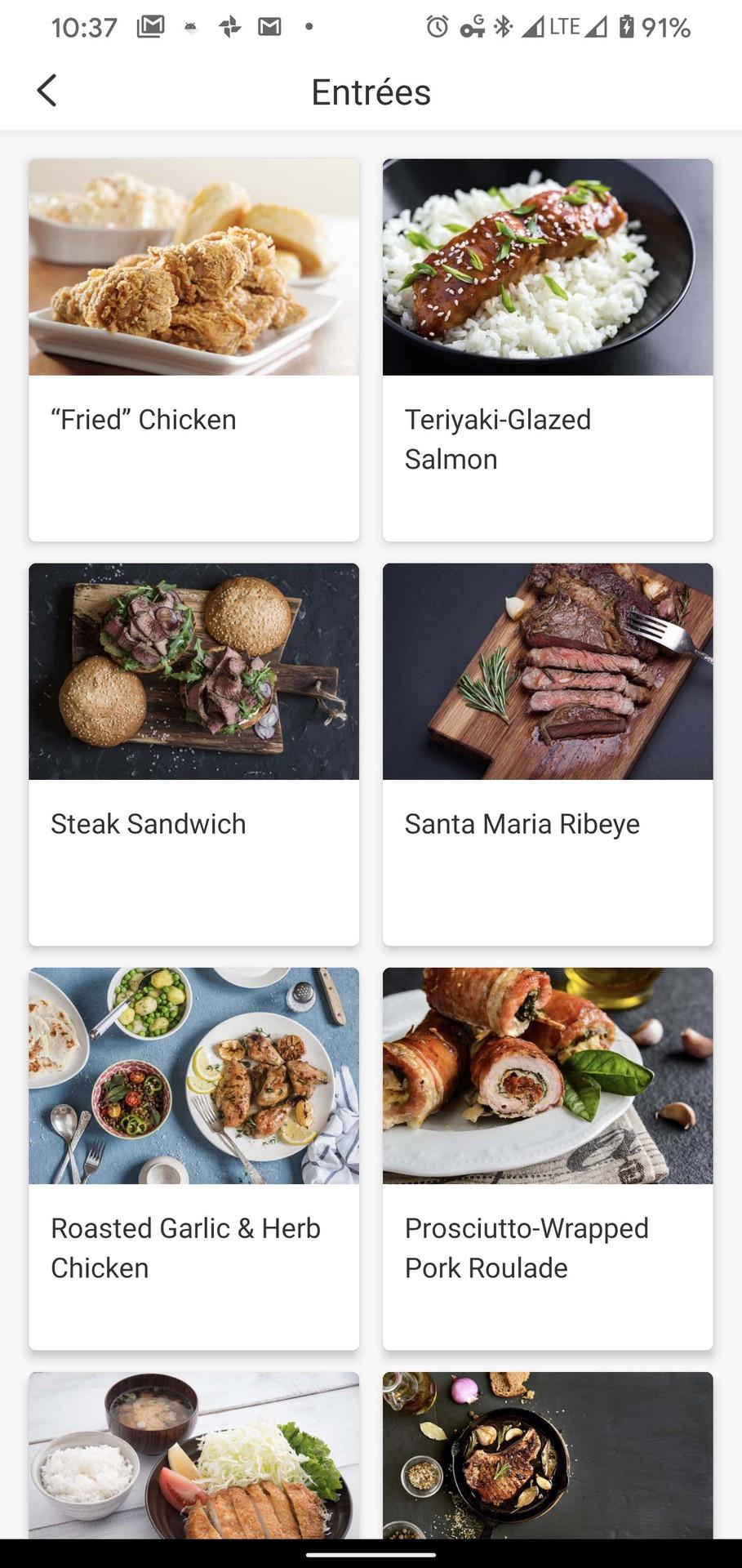 Cosori Smart Air Fryer VeSync app entree recipes
