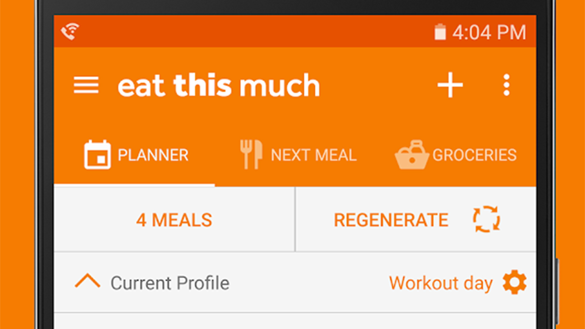 Eat This Much best meal planner apps for Android