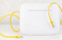 Ethernet vs Wi Fi stock photo 3
