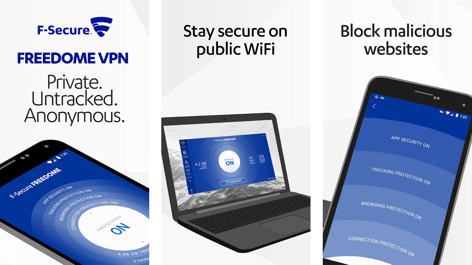 Freedome VPN screenshot 2020