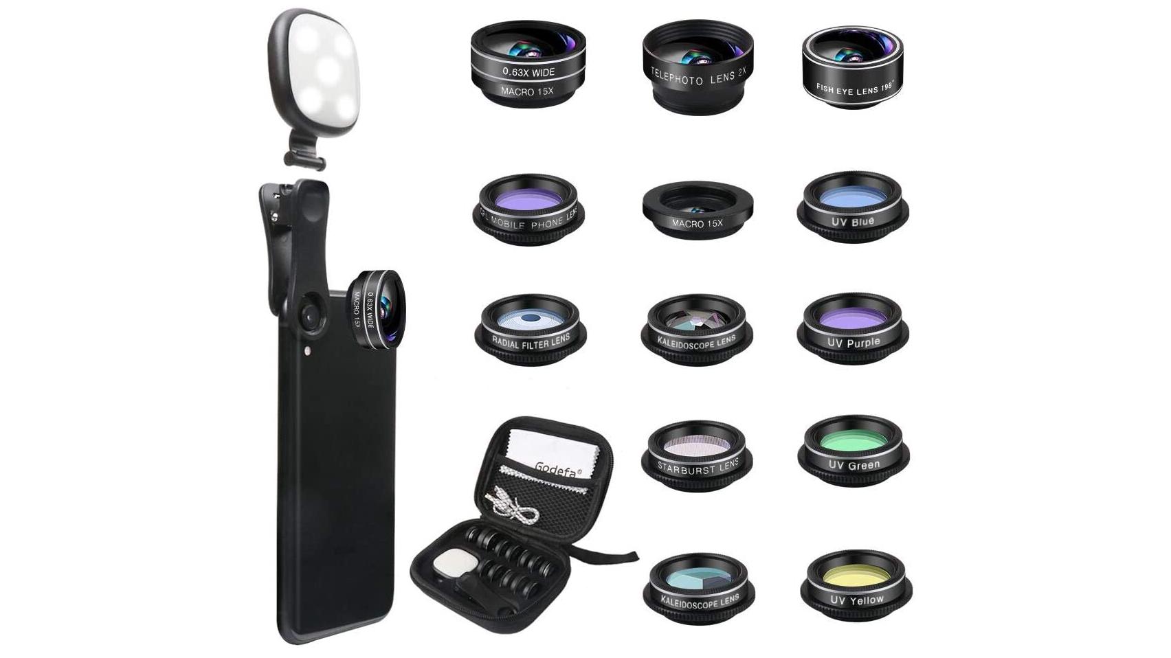 Godefa Phone Camera Lens Kit