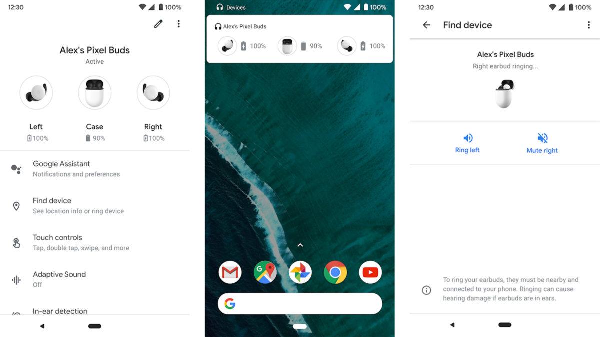 Google Pixel Buds screenshot