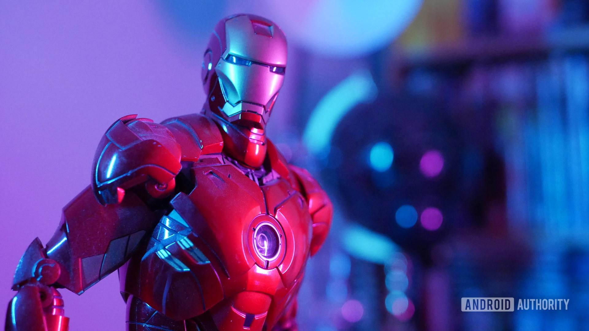 Home Office Lighting Ironman