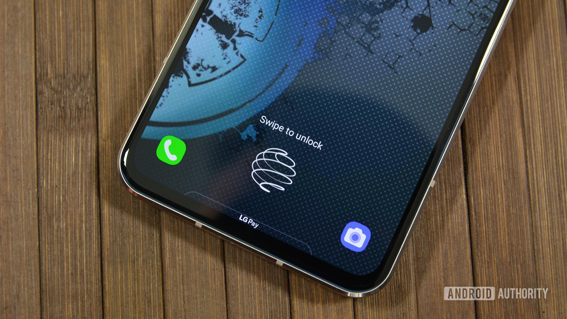 LG V60 fingerprint reader