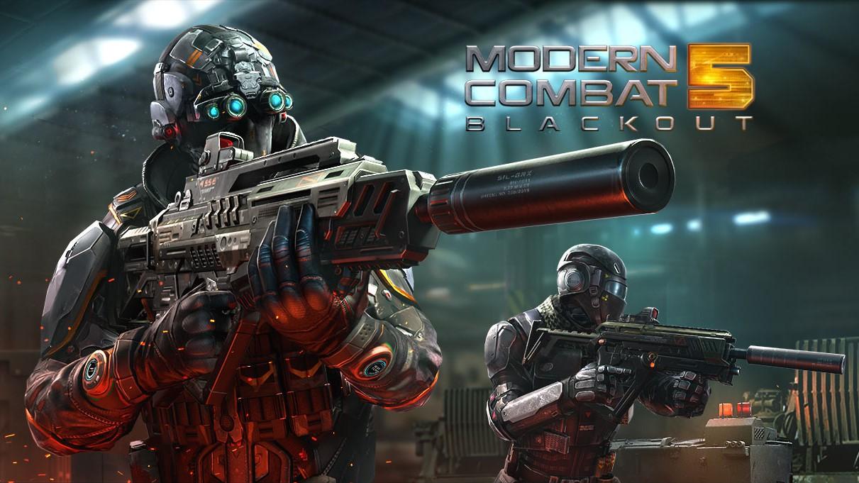 Modern Combat 5 best free FPS games