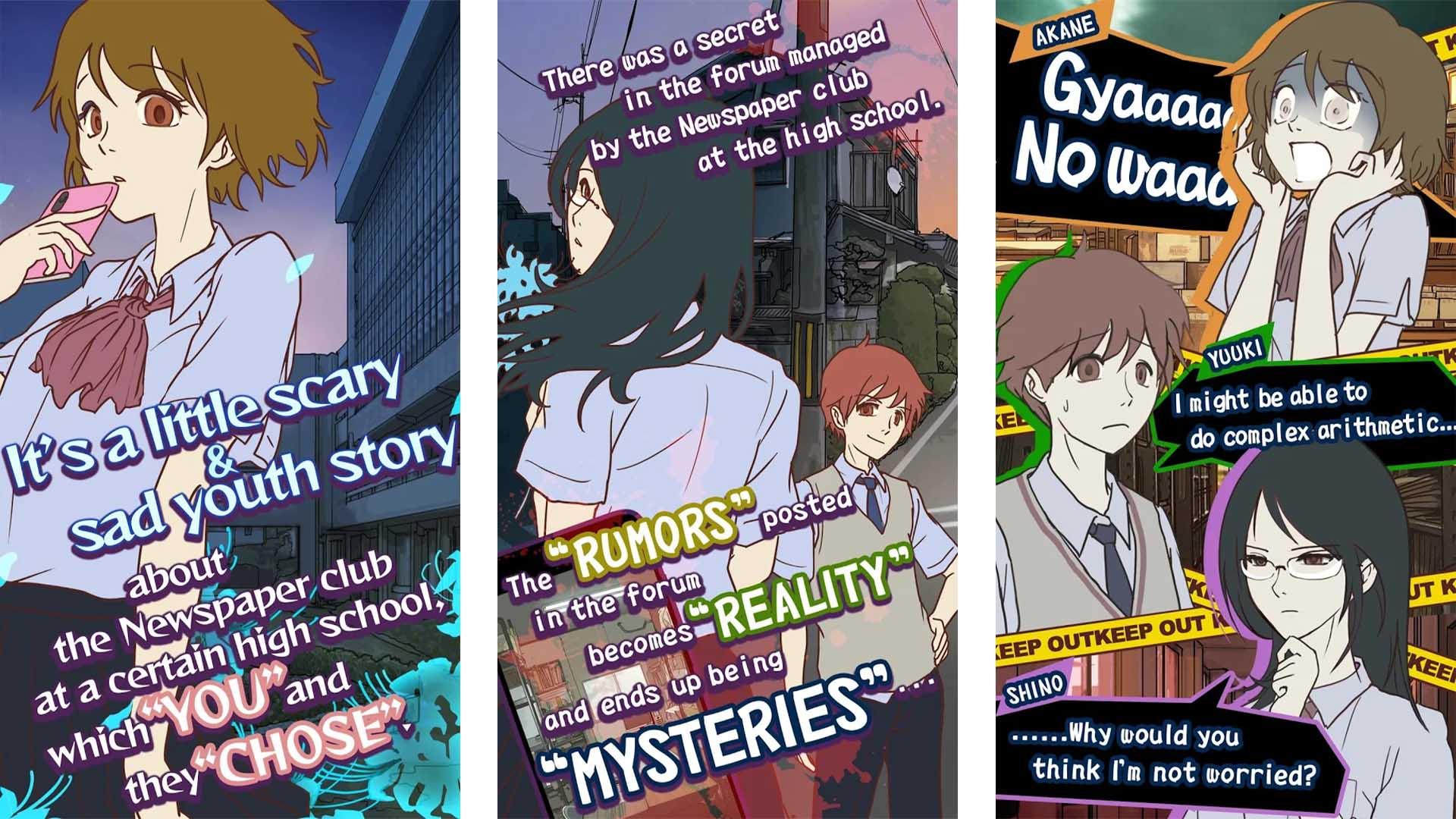 Mysterious Forum and 7 Rumors screenshot