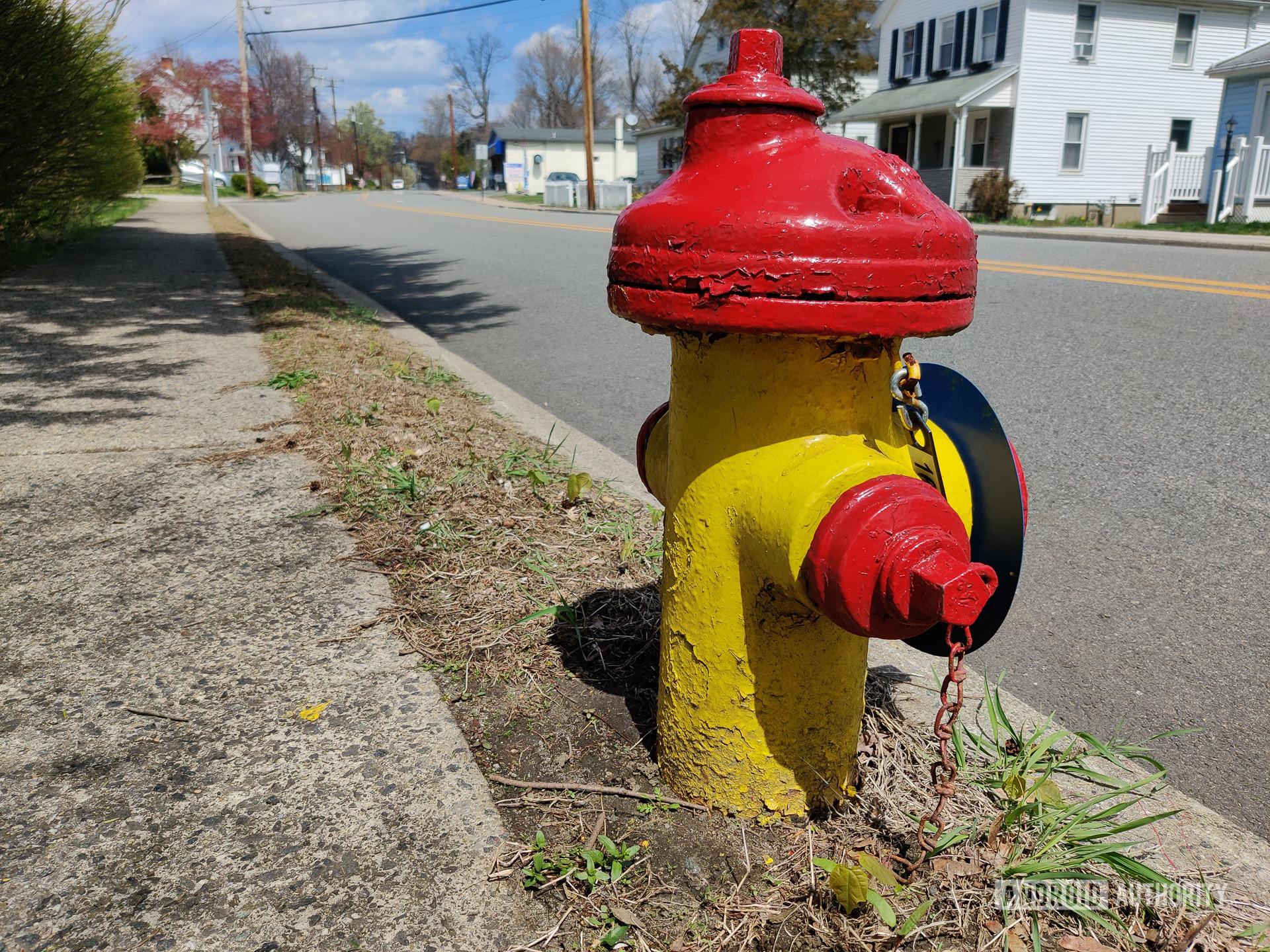 OnePlus 8 photo sample hydrant
