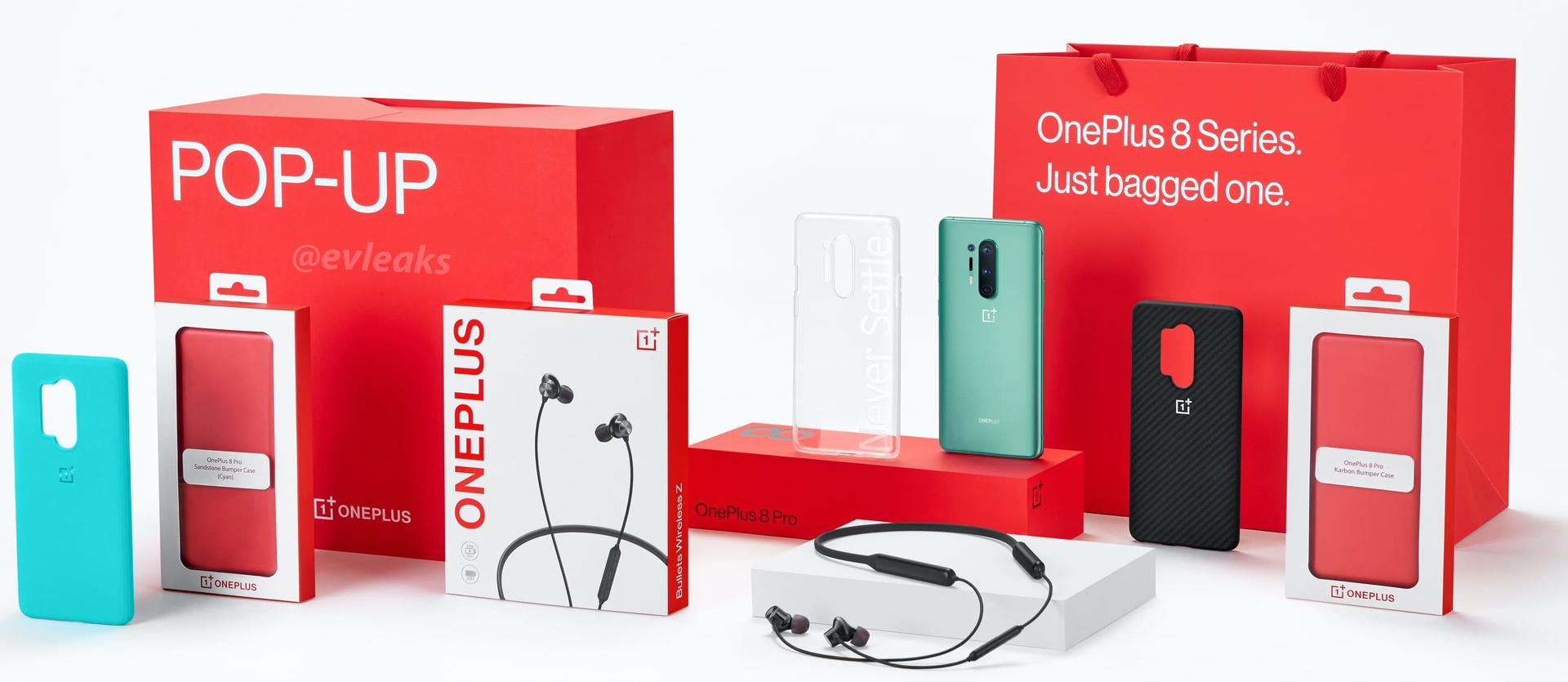 OnePlus 8 series pop up box