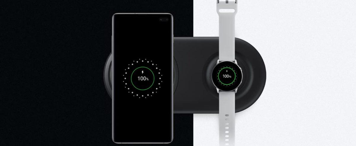 Samsung Duo pad dual wireless charging pad