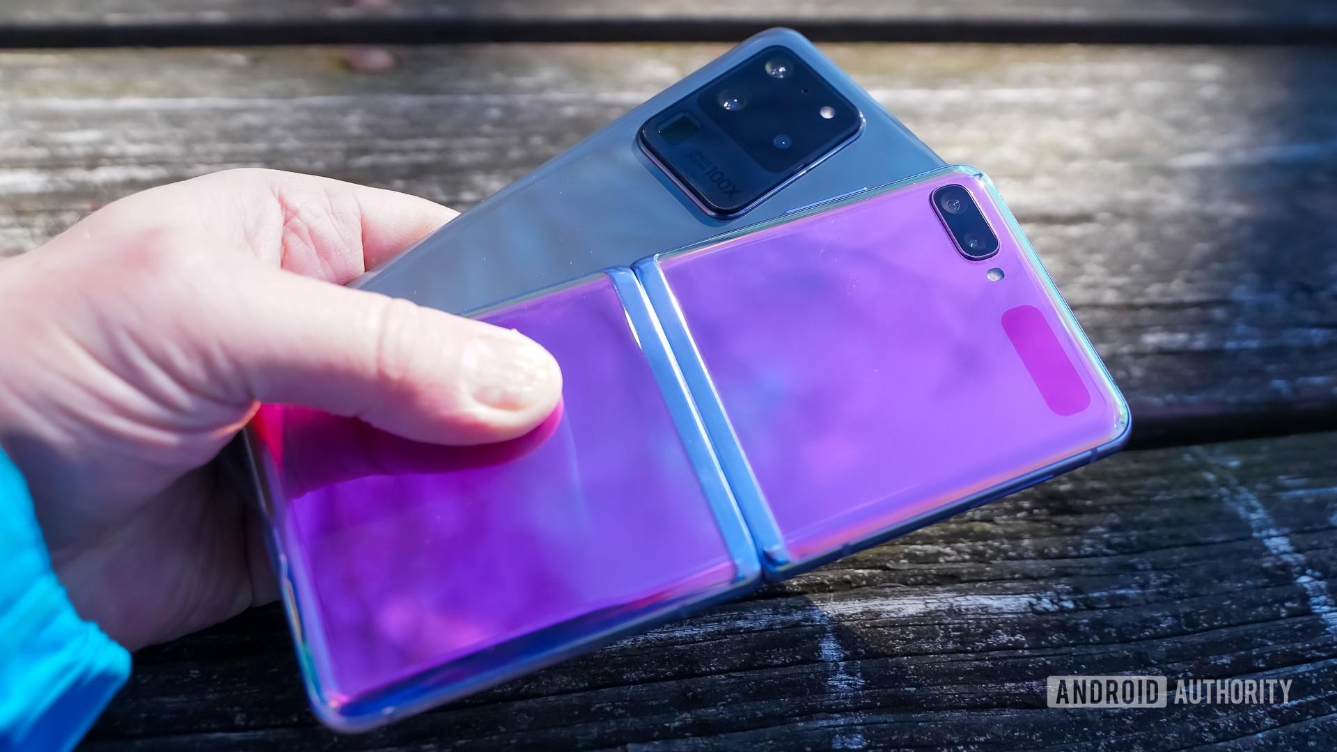 Samsung Galaxy S20 Ultra or Z Flip rear panels