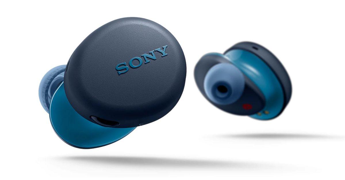 Sony WF XB700 product image blue